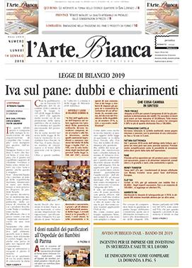 L'arte Bianca – Numero 1