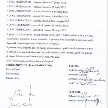 Contratto collettivo Nazionale di lavoro : approvato il testo coordinato
