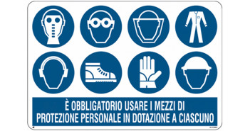 DPI: dispositivi di protezione individuali