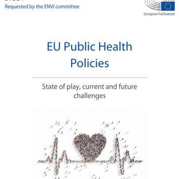 Report del Parlamento Europeo: analisi e prospettive relative alla salute dei cittadini dell'Unione