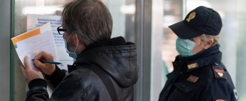 26/3: NUOVO MODULO AUTOCERTIFICAZIONE SPOSTAMENTI