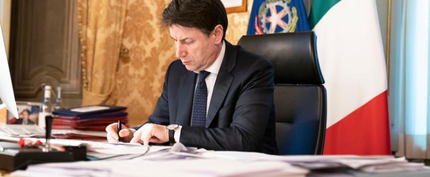 IN VIGORE IL NUOVO DECRETO DEL GOVERNO CHE DOVREBBE FERMARE L'ITALIA
