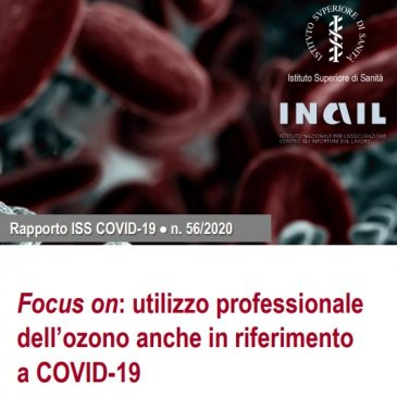 UTILIZZO DELL'OZONO E COVID 19: rapporto dell'Istituto Superiore della Sanità