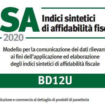 ISA 2020 : IMPORTANTE COMPILARE CORRETTAMENTE IL QUADRO E