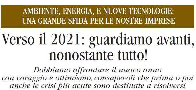 L'ARTE BIANCA n. 23: l'ultimo numero del 2020