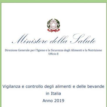 MINISALUTE: REPORT 2019 DELL'ATTIVITA' ISPETTIVA E DELLE VERIFICHE IGIENICO-SANITARIE