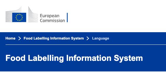 L'UNIONE EUROPEA LANCIA FLIS, database con le indicazioni obbligatorie per l'etichettatura alimentare.